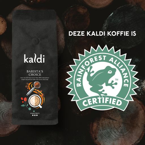 Barista's Choice - Rainforest Alliance - 1000 Gram Kaldi Koffiebonen