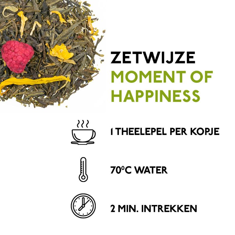 Moment of Happiness (75 gr.) - Kaldi Groene thee