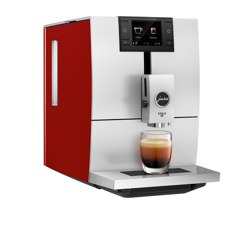 Jura ENA 8 Sunset Red - volautomaat espressomachine