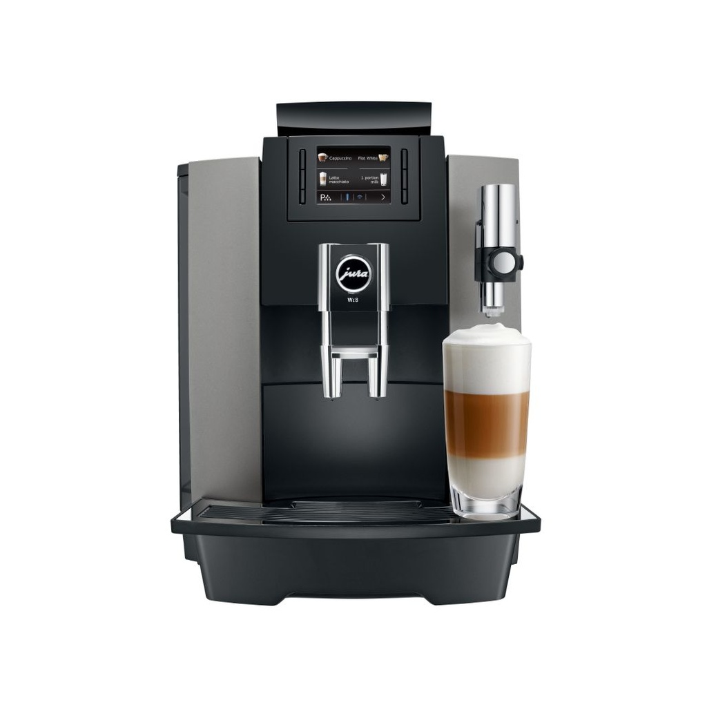 Jura WE8 Dark Inox - volautomaat professionele espressomachine